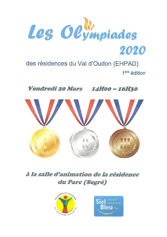 OLYMPIADES INTER SITES !!! EN PARTENARIAT AVEC L'ASSOCIATION SIEL BLEU (Gym adaptée)