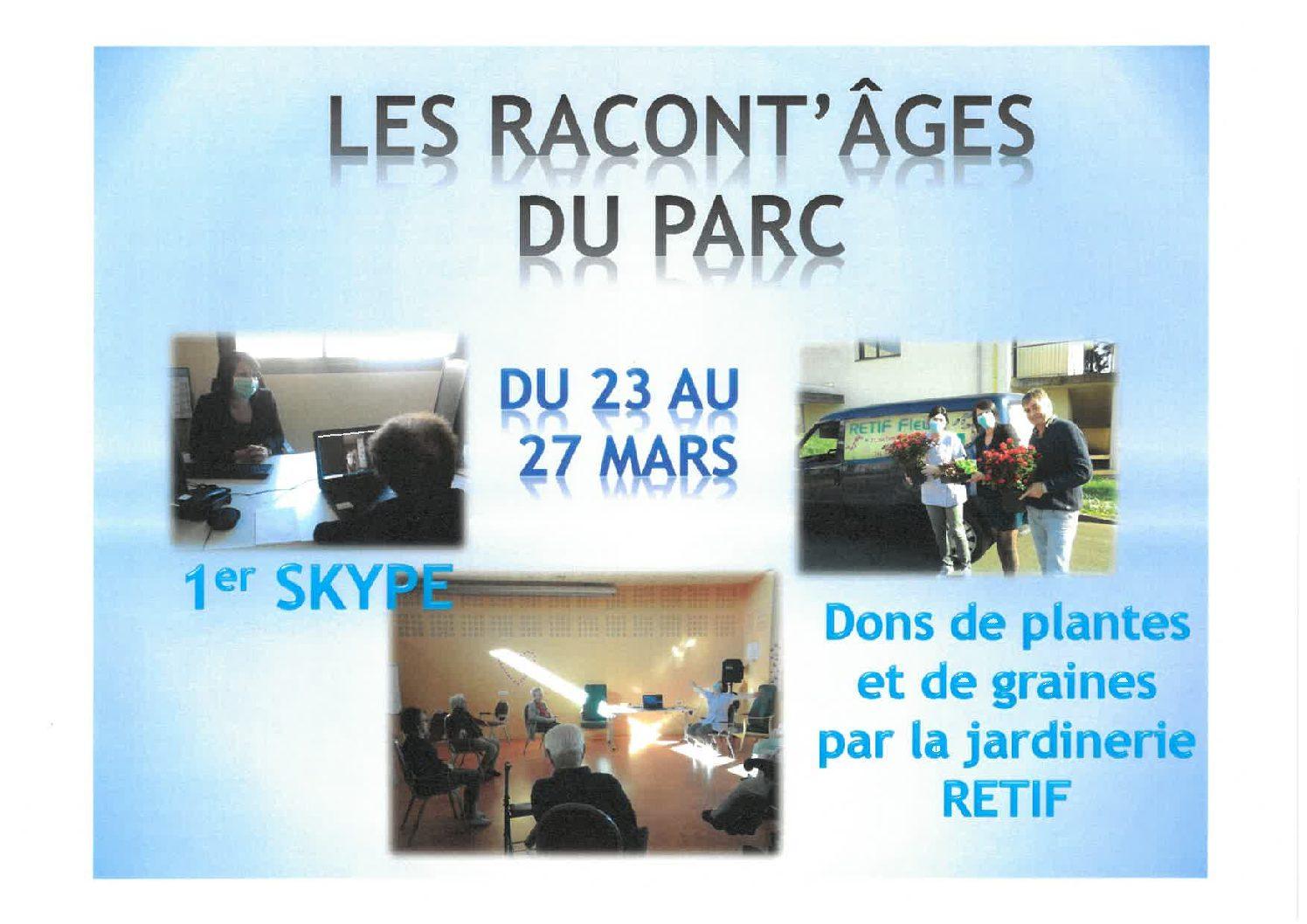 Activités du 23 au 27 Mars 2020 – LE PARC ANIMATION