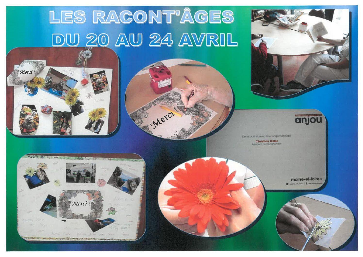LES RACONT'AGES DU PARC SEMAINE DU 20 AU 24 AVRIL 2020