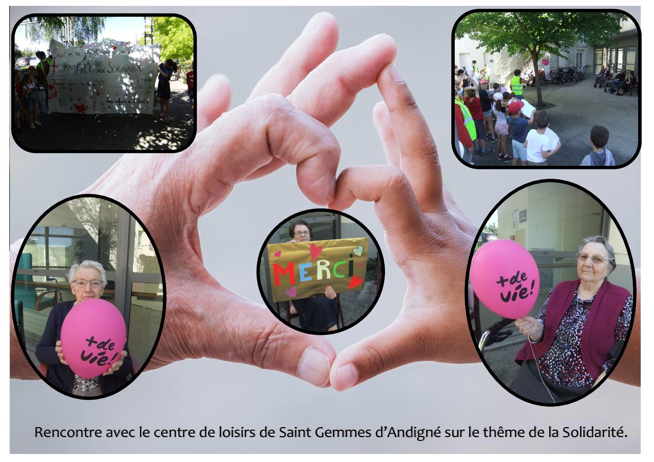 Rencontre intergénérationnelle Résidence «Les tilleuls»